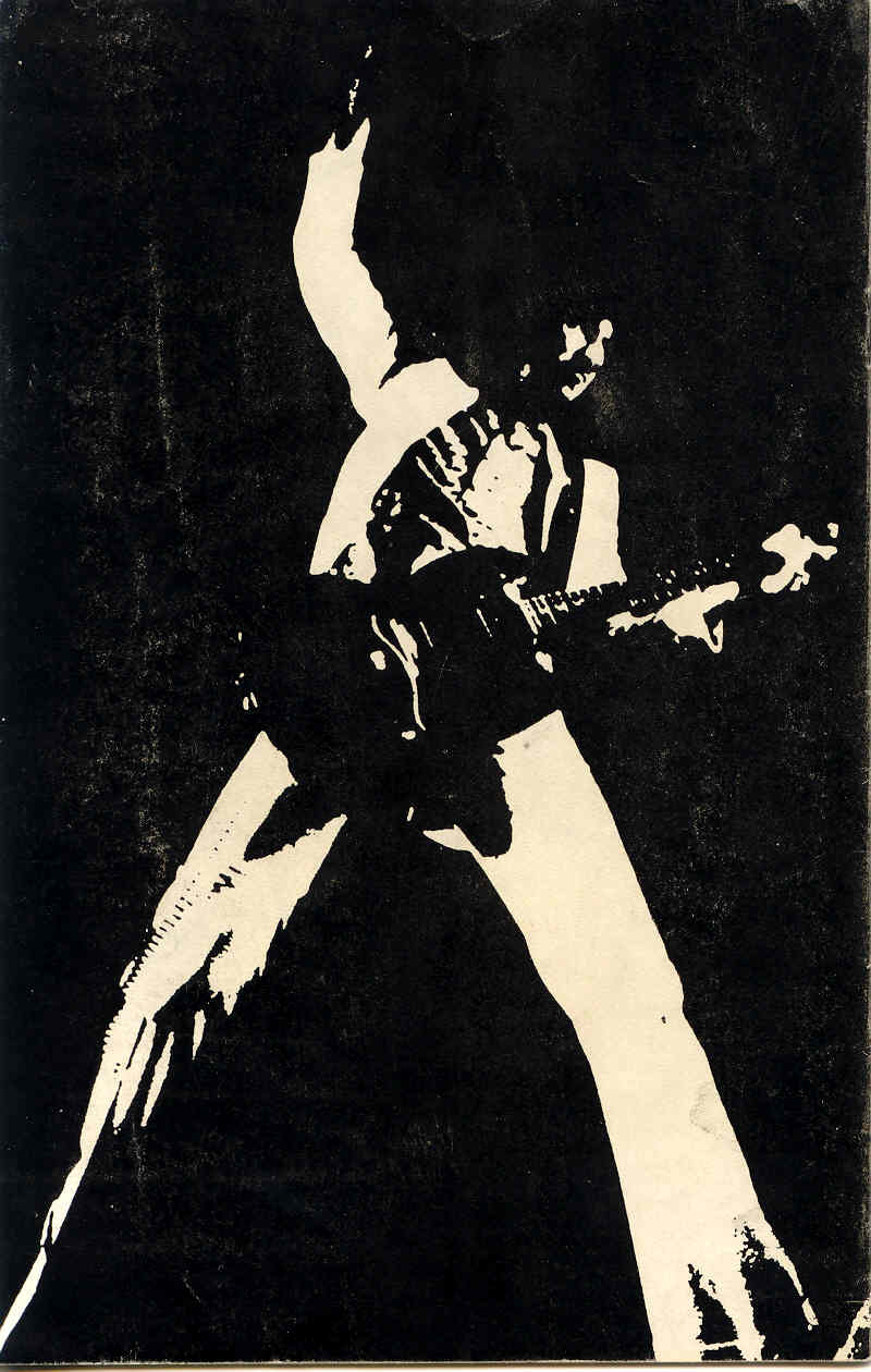 Back cover of a 1971 tour program
