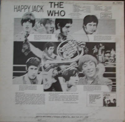 The Back of Happy Jack