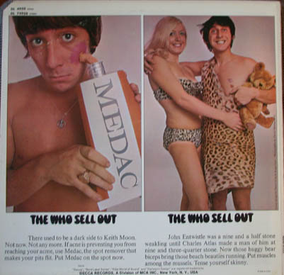THe Back of The Who Sell Out