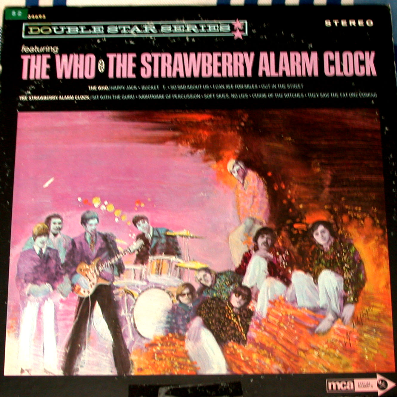 the who/ the strawberry alarm clock